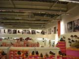 Interiér obchodu KCS v Olympii Teplice
