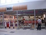 Vnější pohled na prodejnu KCS v Olympii Teplice