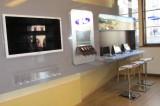 showroom - interiér infocentra Český Krumlov - internet corner