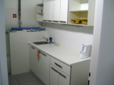 Zázemí - výroba a instalace kuchyňky