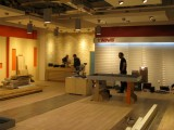 Práce na interiéru - instalace stojanů