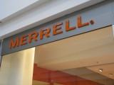 Logo obchodní jednotky Merrell