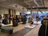 Celkový pohled na hotovou obchodní jednotku Merrell + Patagonia, Olympia Brno