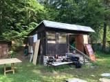 Rekonstrukce chaty - původní stav